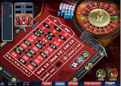 Table ScreeenShot - WGS Technology American Roulette