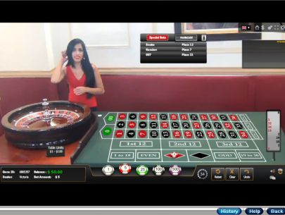 Table ScreeenShot - RTG American Roulette Live